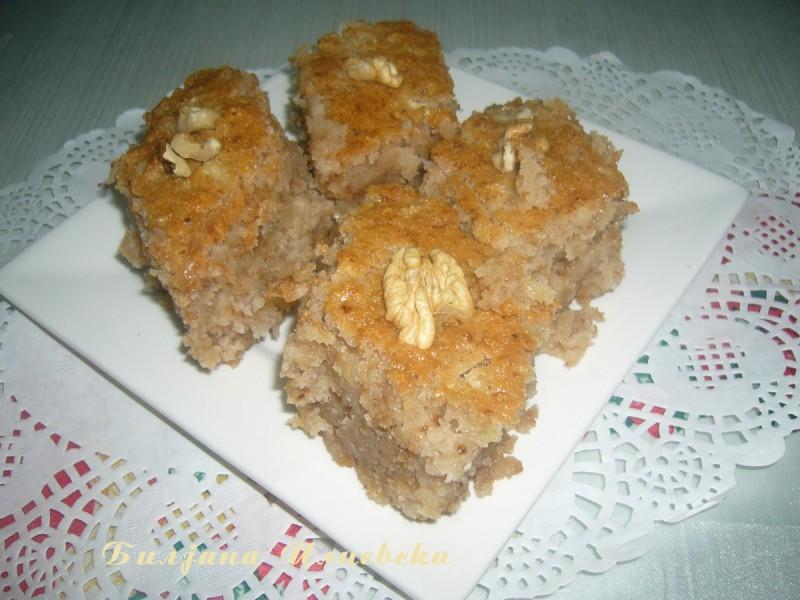 Потурен посен кекс без масло