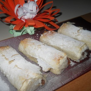 Пита со ориз и суво гројзе (посно)