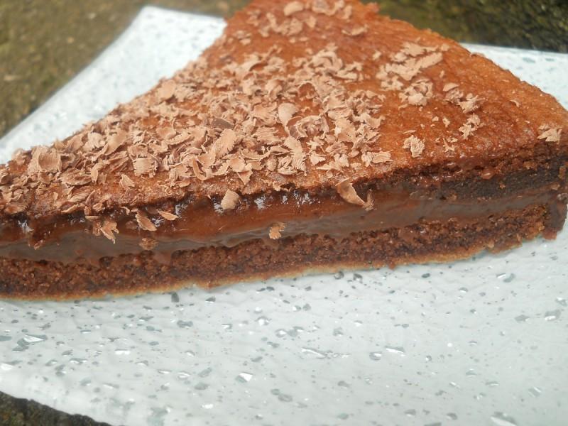 Торта со кафе и чоколадо