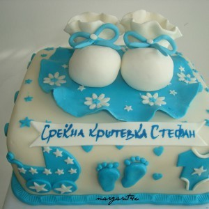 Бела чоколадна торта