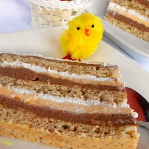 Торта Лебедово гнездо