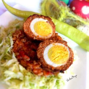 Ушушкани месни јајца