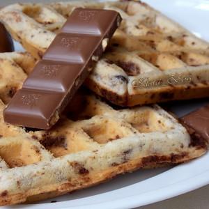 Вафли со чоколадо