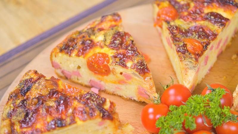 Видео рецепт: Брза пита пица