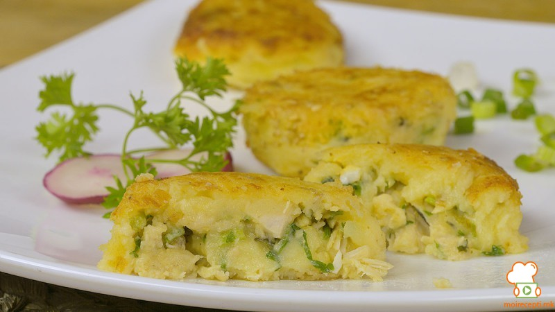 Видео рецепт: Ќофтиња од компир со фил од пилешко
