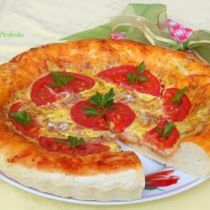 Пица тарт (со лудо тесто)