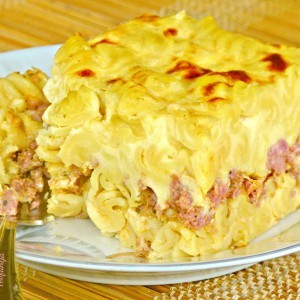 Пастичо или пастицио – Печени макарони со мелено месо