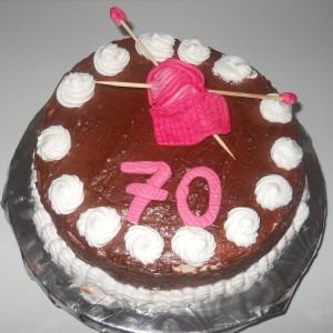 Раскошна кремаста торта