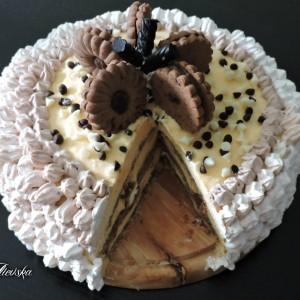 Торта со бадем и чоколада