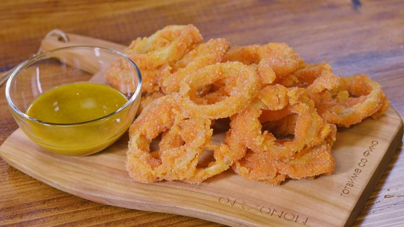 Видео рецепт: Најкрцкави прстени од кромид