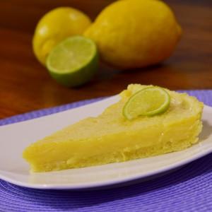Видео рецепт: Тарт со лимон