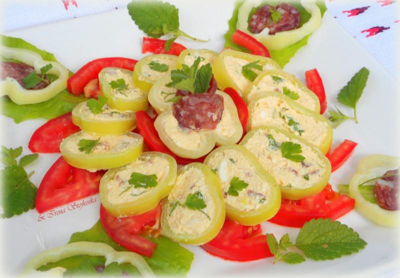 Вкусни залаци со свежи пиперки