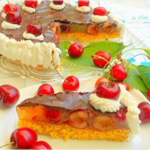 Торта со цреши