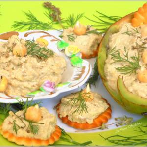 Паштета со наут и авокадо (сурово, веган, посно)