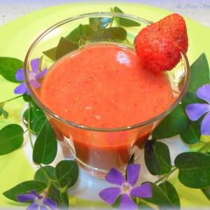 Свеж сок од јагоди
