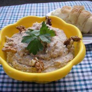 Паштета од грав и ореви (посно)