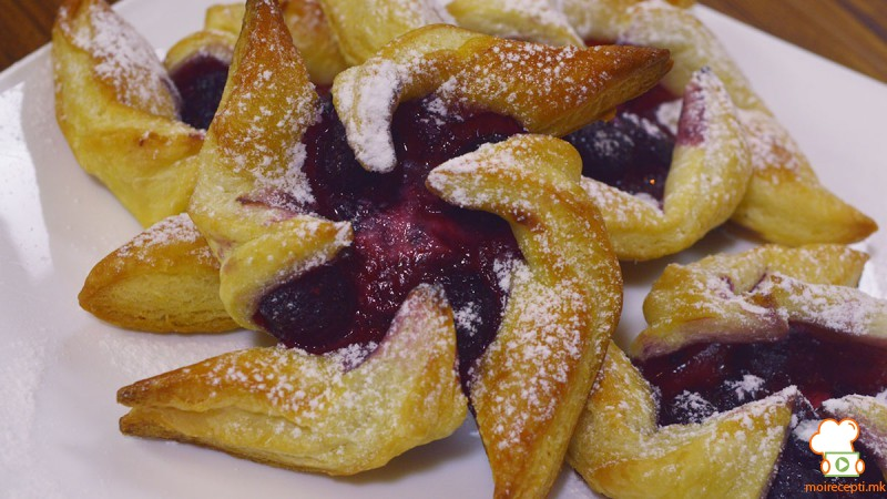 Видео рецепт: Овошни лиснати нинџа ѕвездички