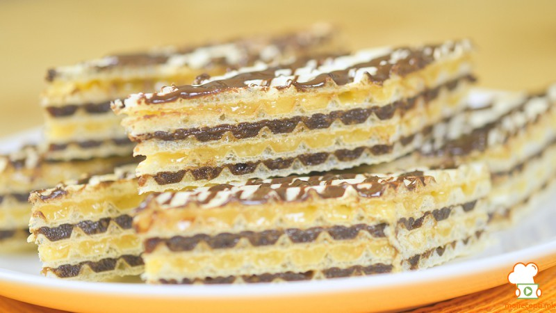Видео рецепт: Двобојни чоколадни обланди