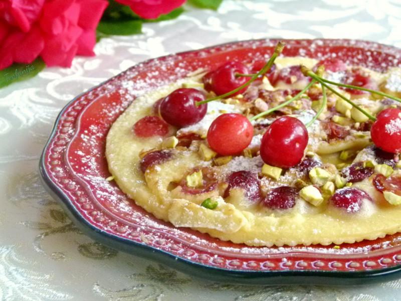 Сладок омлет со цреши