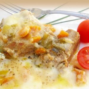 Динстано говедско месо во сос