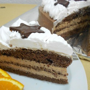 Чоколадна фреш торта