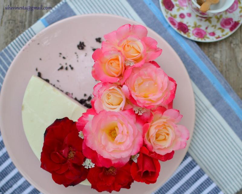 Омбре тортичка со шумско овошје