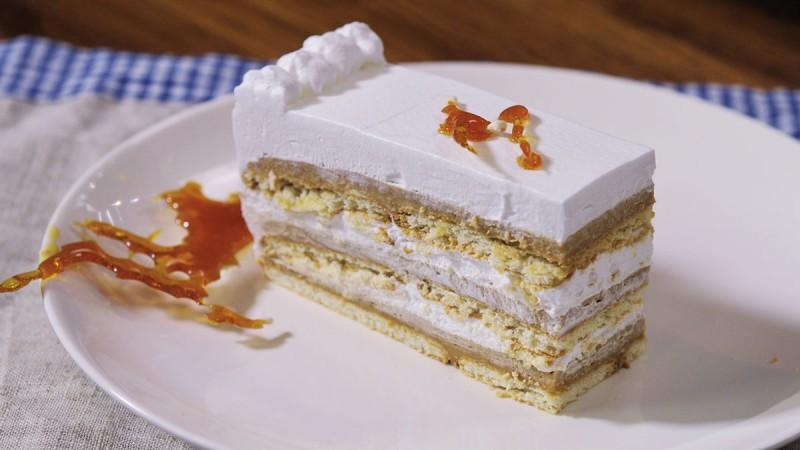 Видео рецепт: Летна карамел торта Шехерезада