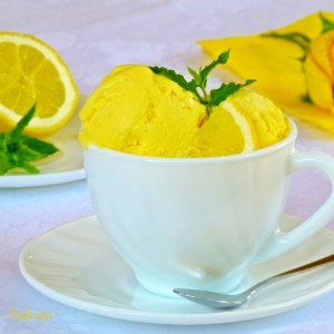 Лимон сладолед