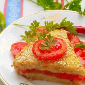 Пита со компири и домати