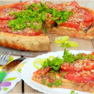 Тарт со домати (посно)