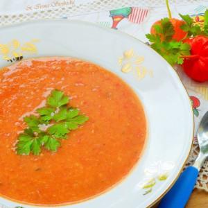 Крем супа со домати (посно)