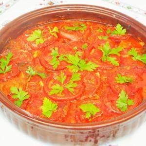 Тава со зеленчук