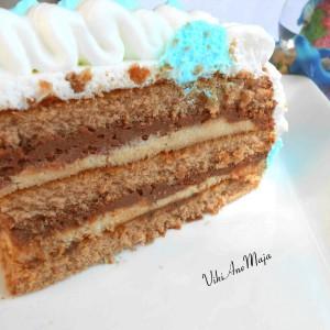 Чоко-моко торта (не печена)
