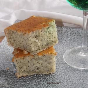 Ментол колач со афион  (посно)