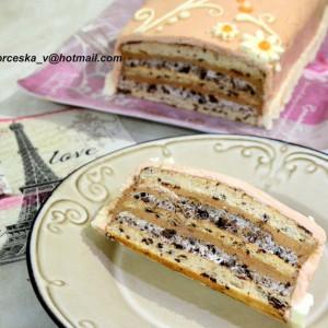 Лешник-орео торта