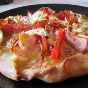 Галета со домати и овчко сирење