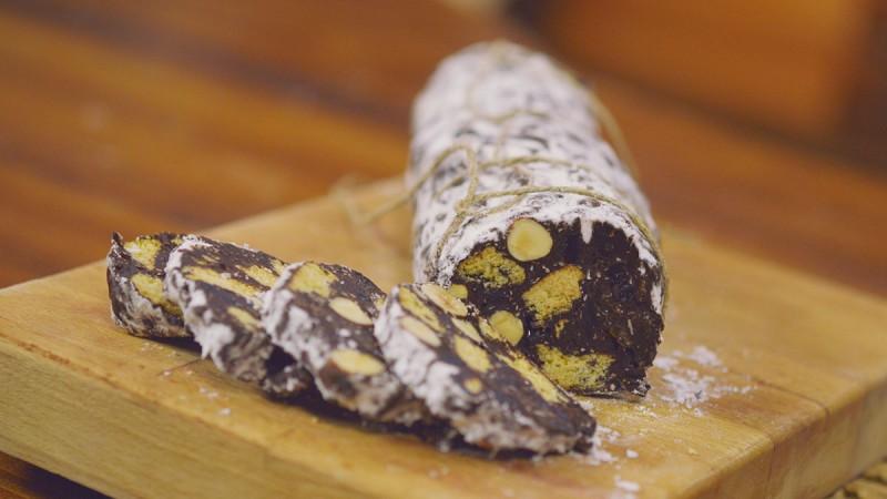 Видео рецепт: Чоколадна салама
