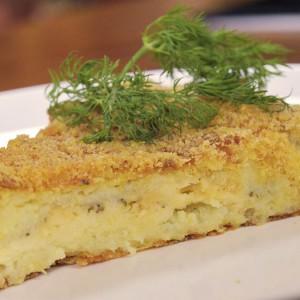 Видео рецепт: Солена компир торта