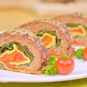 Видео рецепт: Тробоен ролат со месо