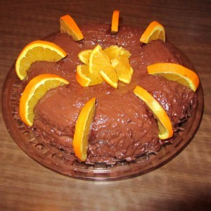 Торта со портокали и чоколада