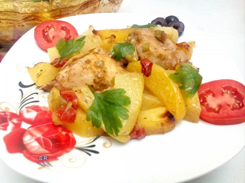 Печени компири со копани