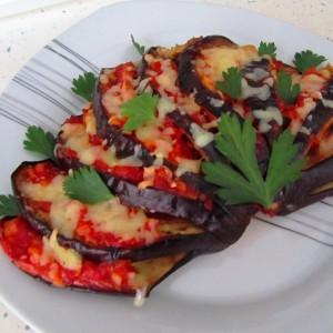 Ладило (лепеза) од црн патлиџан