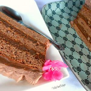 Чоколадна сунѓер торта