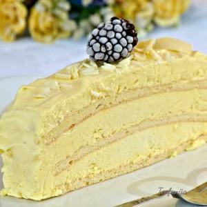 Бела - сладоледна бурбон ванила торта