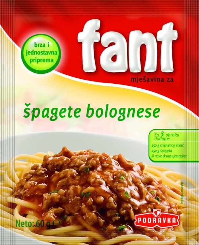 Фант мешавина за шпагети bolognese