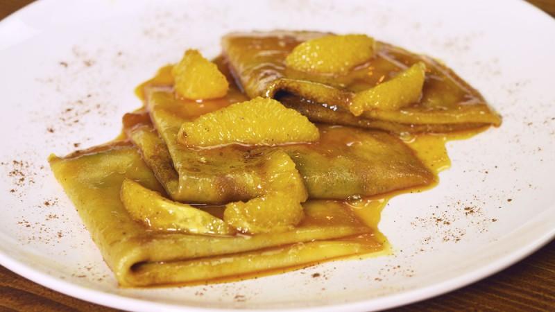 Видео рецепт: Фламбирани палачинки
