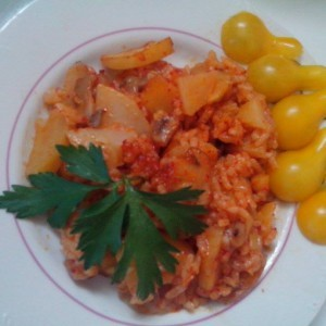 Тавче со ориз (посно)