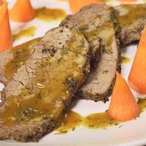 Видео рецепт: Печено телешко со 4 вида бибер