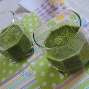 Зелено смуди