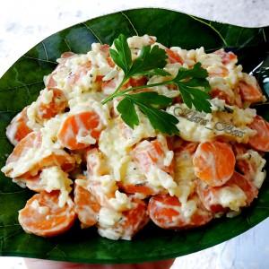 Прилог од моркови и ориз